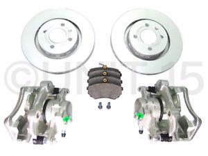 VW Golf MK2 G60 Front Brake Calipers / Brackets / Discs & Pads   280mm