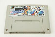 Rockman X3 MegaMan SNES Capcom Nintendo Super Famicom From Japan