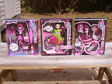 MONSTER HIGH CHOICE OF (ONE) DRACULAURA DOLL SWEET 1600 OR SNOW BITE