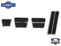 67-75 Camaro 68-75 Nova Automatic Pedal Pad and Trim Set Show Quality