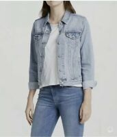Levi's Women's Original Trucker Jacket In Light Wash Blue Size S/M/L