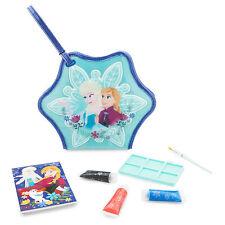 Disney Store Frozen Paint Case Anna Elsa & Olaf Art Set New