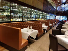 Button Tufted Restaurant Booths