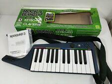 Xbox 360 Mad Catz Rockband 3 Wireless Keyboard 98161 in Box w/ Strap & Manual