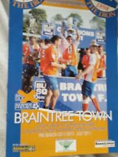 Braintree v Orient, Wycombe, Colchester, Southend, Gill friendlies, 2011-12
