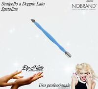 Scalpello a doppio Lato - Spatolina - Spatola - Ricostruzione unghie Nail Art