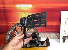 2016 Harley Breakout Folding License Plate Side Mount Slim Dyna XL Tag Holder