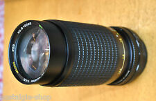 80er Canon Zoom Ojektiv 80s Canon mit Ledertasche