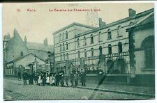 CPA - Carte Postale - Belgique - Mons - Caserne des Chasseurs à Pied - 1908