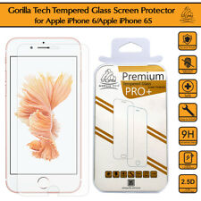 Oleophobic Coated Gorilla Tempered Glass Film Screen Protector For iPhone 6S & 6