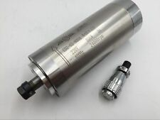 ER11 Spindle Motor 800W Water Cooled D=65mm 2Bearing AC220V CNC Engraving Mill