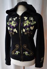 EDC by ESPRIT Luxus Sweater mit Straß und Stickerei Gr. 38 - 40
