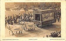 Rochester NY Kodak Camera Float Horses & Wagon RPPC Postcard