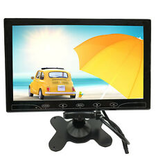 "2in1 10"" LCD HD CCTV Monitor Screen HDMI 1080p for Car Monitor RearView Camera"