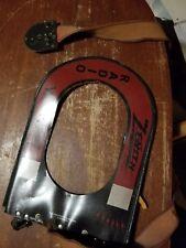 Vintage  Zenith Radio Trans-oceanic Wave Magnet  Antenna Red-Black-Silver Short