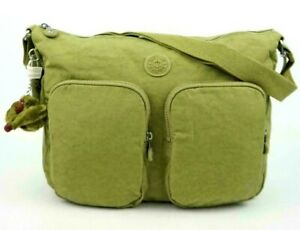 $104 NWT - KIPLING 'SIDNEY - HB7685' Pine Grove Tonal TRAVEL CROSSBODY BAG
