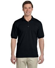 Gildan DryBlend Mens Polo Sport Shirt Jersey T-Shirt All Colors Size S-5XL- 8800