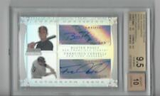 2009 Bowman Sterling Dual Auto Ref B Posey/F Cervelli Graded 9.5/Auto 10
