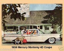 1959 Mercury Monterey 4D Coupe Magnet