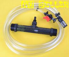 "1 1/2"" Irrigation Venturi Fertilizer Injectors Device Water Tube Flow Switch Kit"