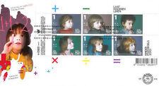 Nederland fdc  619  kinderzegels 2010