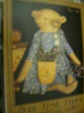 Olde Time Teddy Sewing Doll PATTERN & Fabric- 6 Inches Tall