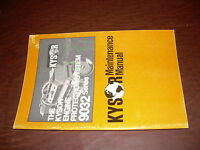 KYSOR 9032 SERIES ENGINE PROTECTION OPERATORS MAINTENANCE MANUAL