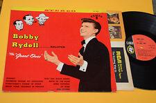 BOBBY RYDELL LP SALUTES GREAT ONES 1°ST ORIG USA 1961 COPERTINA CARTONATA+INNER