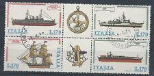 1978 ITALIA USATO NAVI BLOCCO