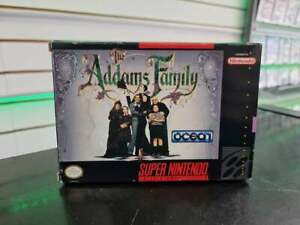 The Addams Family - SNES [NTSC US] - FAST DELIVERY