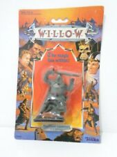 WILLOW FIGURE by TONKA 1988 - NOCKMAAR LIEUTENANT Trooper - MINT ON CARD