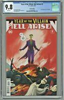 Year of the Villain Hell Arisen #3 CGC 9.8 2nd Second Print 1st app Punchline
