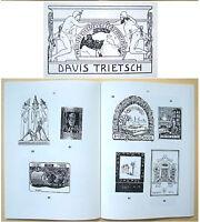Jewish BOOKPLATES Catalogue EX LIBRIS Judaica LILIEN Bezalel HEBREW Israel BOOK