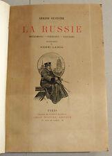 LA RUSSIE IMPRESSIONS PORTRAITS PAYSAGES 1892 SILVESTRE E.O. 5 EAUX-FORTES LANOS