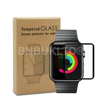 Full Border Edge Tempered Glass Screen Protector for Apple Watch Series 2 42mm