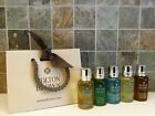 Molton Brown Mens Body Wash / Shower Gel / Gift Set 5 x 30ml Bottles - NEW