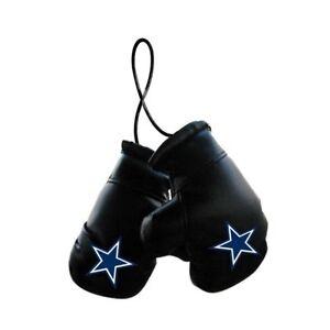 Dallas Cowboys NFL Mini Boxing Gloves Rearview Mirror Auto Car Truck