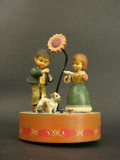 "1950s-60s Alps Children Music Box, Anari Italy, Not Working, ""Dites Moi"""