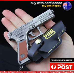 Best GLOK 9MM Keyring PUBG Gun Collectors Gift Keychain Gun Keyring gun GL OCK