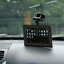 "7"" 16GB Android WiFi Car DVR Camera GPS Navigator Radar Detector Video Recorder"