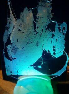 Harly Quinn Joker Batman Night Light LED 7 Color Lamp