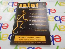 The Saint Mystery Magazine-July 1962 -Leslie Charteris~Cornell Woolrich & Others