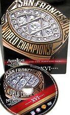 NFL Americas Game - San Francisco 49ers Super Bowl XVI, DVD,FOOTBALL FREE SHIP