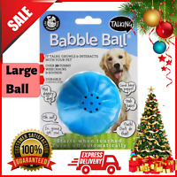 Pet Qwerks Babble Talking Electronic Ball Dog Cat Interactive Toy Funny Sounds
