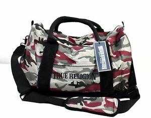 True Religion Brand Jeans Redwood Camo Duffel/Gym Bag/Purse - MCAMDFL
