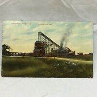 Vtg Postcard Cranberry Breaker Scene Hazleton Pennsylvania 1910