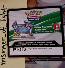 BOGO Dragon Majesty LATIAS Code TCGO via eBay message from Pin Collection