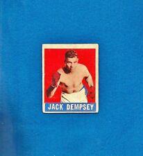 1948 LEAF JACK DEMPSEY #1 *VG-EX* HEAVYWEIGHT BOXING LEGEND