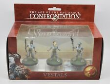 The Age Of The Rag'Narok Confrontation Miniatures NEW Vestals Attachment Box