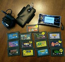 Game Boy Micro, with 11 games, case, charger